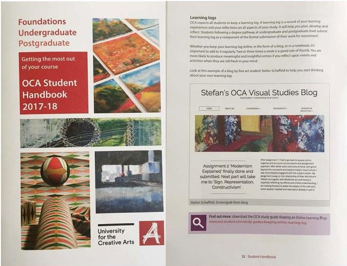 UCA_student handbook 2017_2018