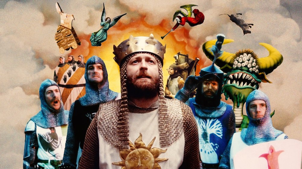 Image for Monty Python and the Holy Grail. An example of films to watch during a pandemic.