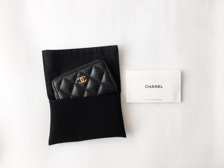 d1f2f1217bb5 I have considered a several brands before finally picking the Chanel  Classic Coin Purse in caviar leather, but after all, I just could not  resist the classy ...