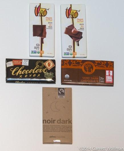 Week 1 chocolate bars