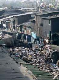 New Delhi slum