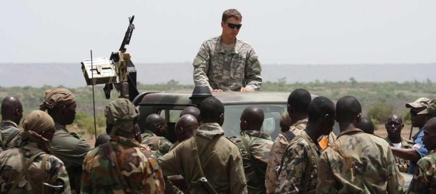 US troops in Africa
