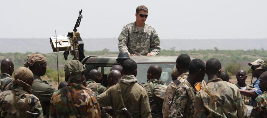 US troops in Africa