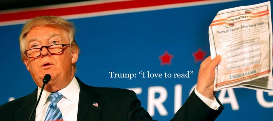 Trump-reading