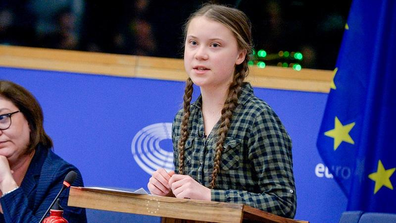 "16-year-old climate change activist says: ""Time to panic"""