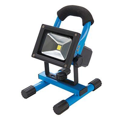 Holofote LED recarregável com conexão USB 10W