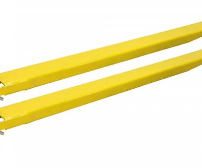 Forklift extensible forks