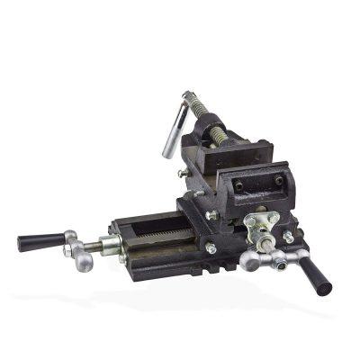 Mesa e prensa para engenho de furar de 2 eixos 100mm