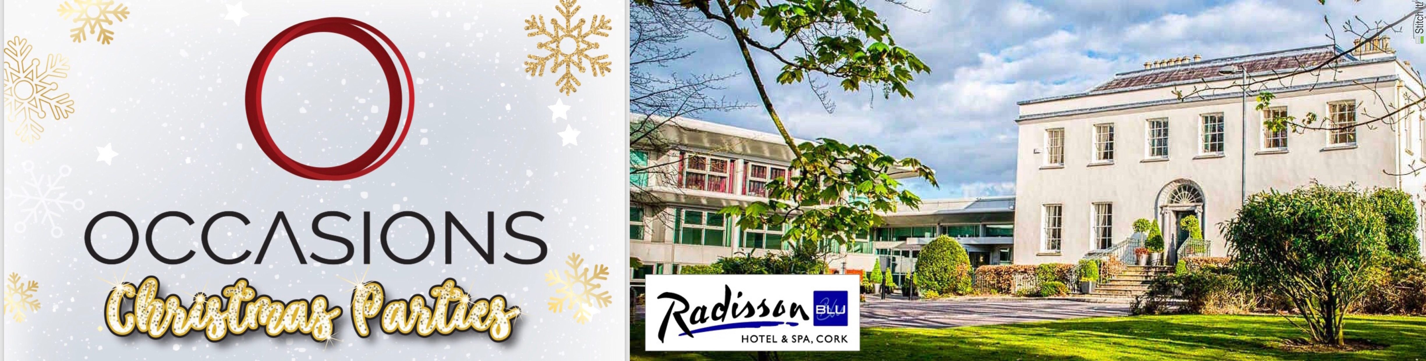 Occasions Christmas Parties - Radisson Blu, Little Island
