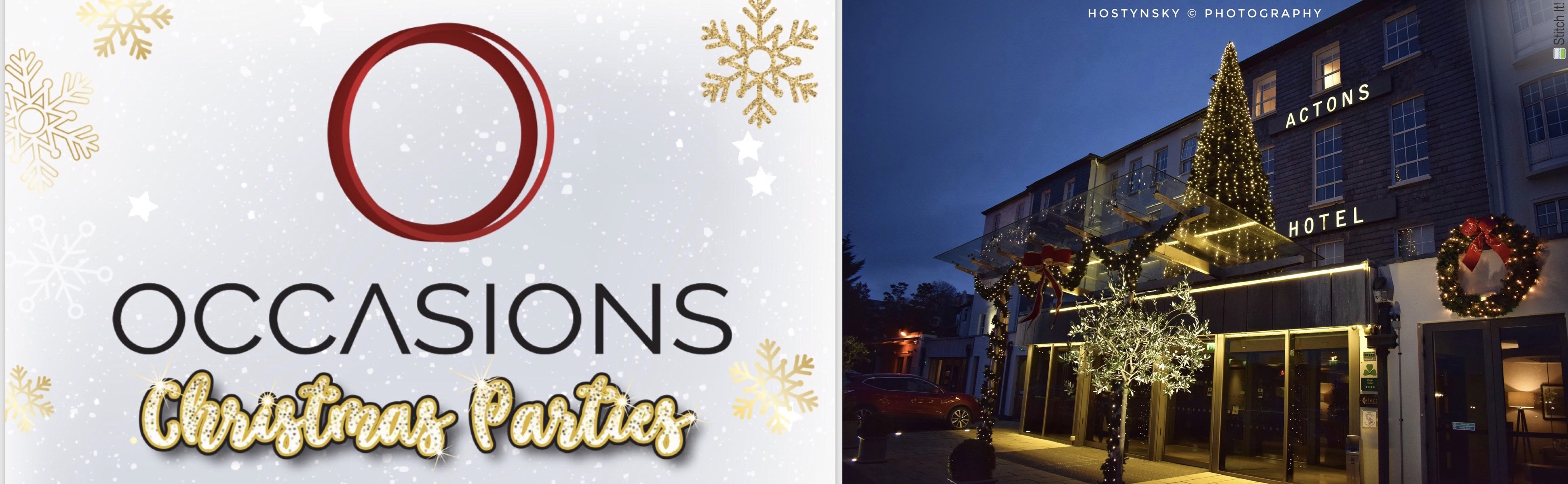 Occasions Christmas Parties - Actons Hotel Kinsale