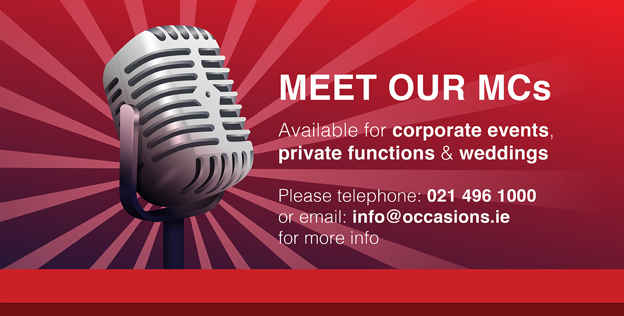 Occasions Christmas Parties - Meet our MC's