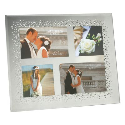 Starburst Crystal Collage Photo Frame Wedding Gifts