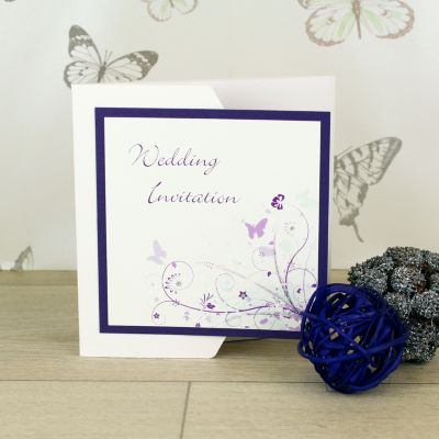 Wonderland Day Invitation Handmade Wedding Invitations