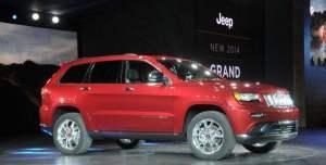 Les nouveaux 4x4 du Salon de l'automobile de Détroit – Chrysler Jeep Grand Cherokee 2014 SRT
