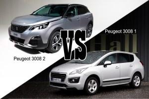 Les changements sur le nouveau Peugeot 3008