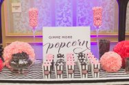 popcorn bar Victoria Secret PINK party