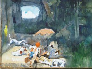 Dans l'atelier d'Abel Pradalié