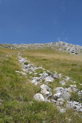 Monte Marsicano au soleil