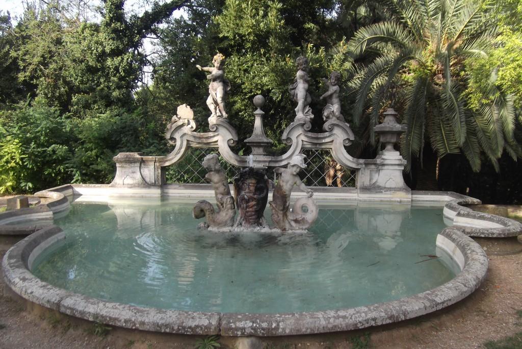 villa sciara sud de rome