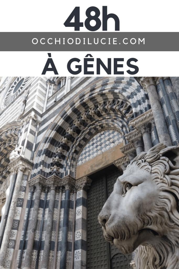 guide tourisme gênes