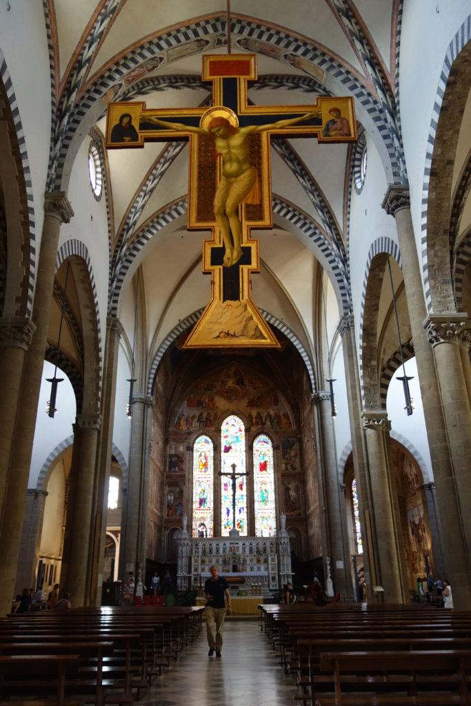 L'église de Santa Maria Novella à Florence