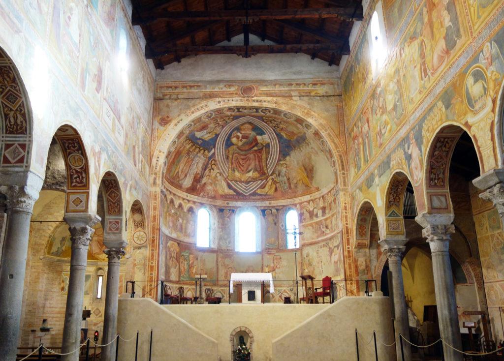 Les fresques de l'Abbaye de Pomposa