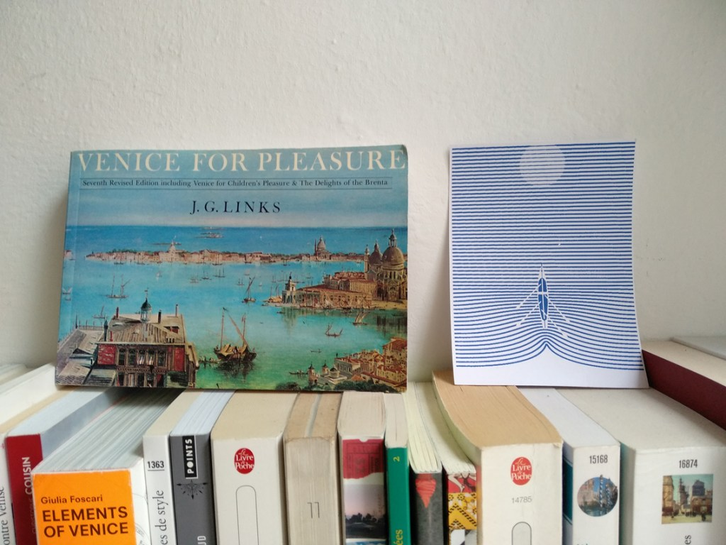 Mes lectures de Venise