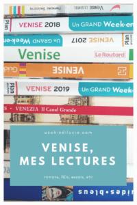 Venise, mes lectures
