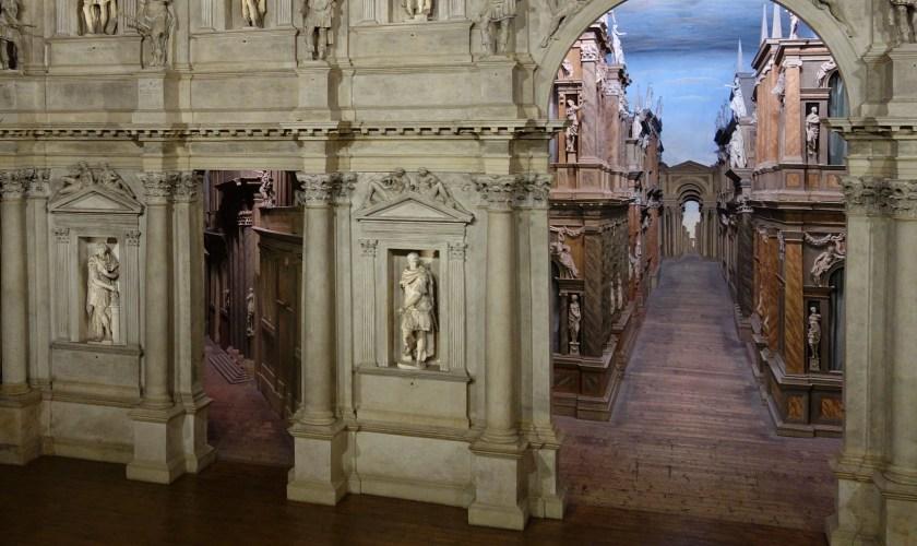 Vicence et le Teatro Olimpico
