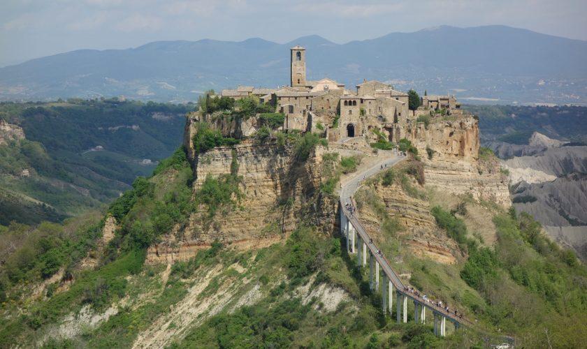 Civita di Bagnoregio, le village dans le ciel