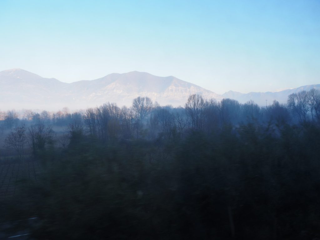 Italie en train lac d'Iseo