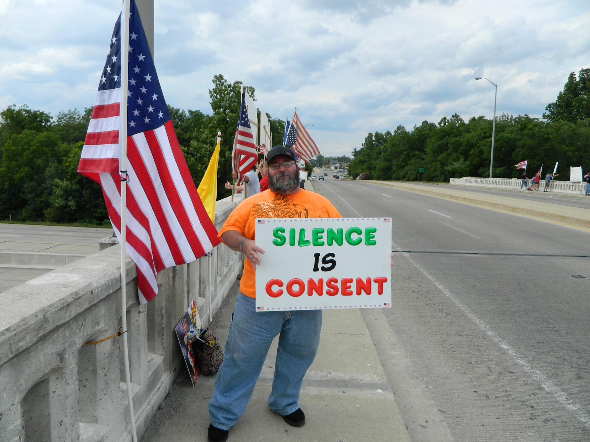 """Make Them Listen"" Coalition Protest"