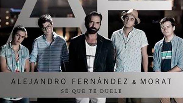 Descarga la musica Alejandro Fernandez Ft.  Morat - Sé Que Te Duele en mp3