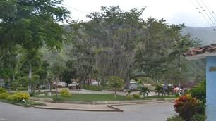 Uno de los parques que se encuentran en la cabecera municipal