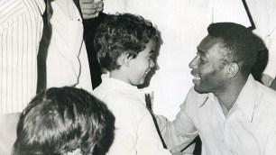 La visita del rey Pelé a Cali