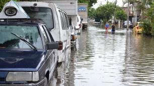 Inundaciones de hasta 80 centímetros de profundidad