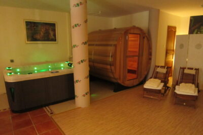 The Sauna and Spa area of Belvedere House