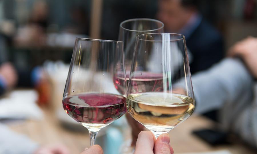 verres de vin