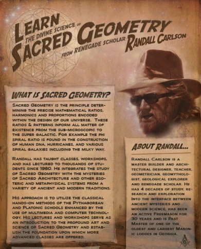 Learn Sacred Geometry from Randall Carlson