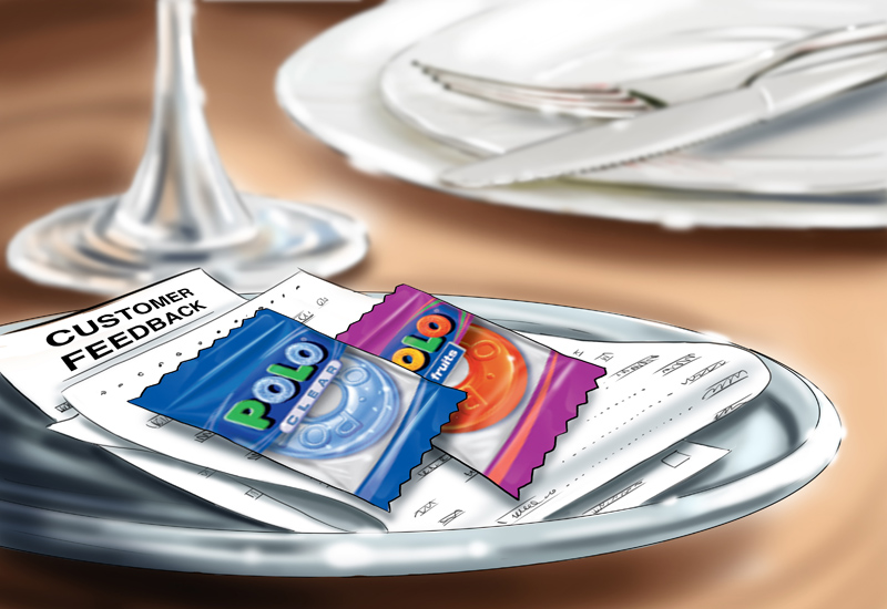 70% of guests feel more valued when given freebies
