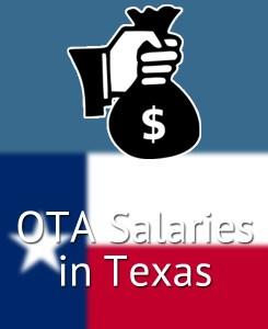 OTA Salaries in Texas's Major Cities