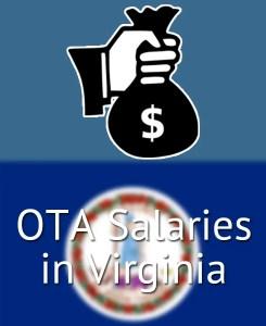 OTA Salaries in Virginia's Major Cities