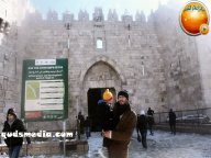 Snow in Palestine - Snow in Jerusalem Photo via QudsMedia - 41