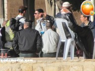 Febr 7 2013 Settlers and armed forces desecrate al-Aqsa Mosque - Photo by QudsMedia 15