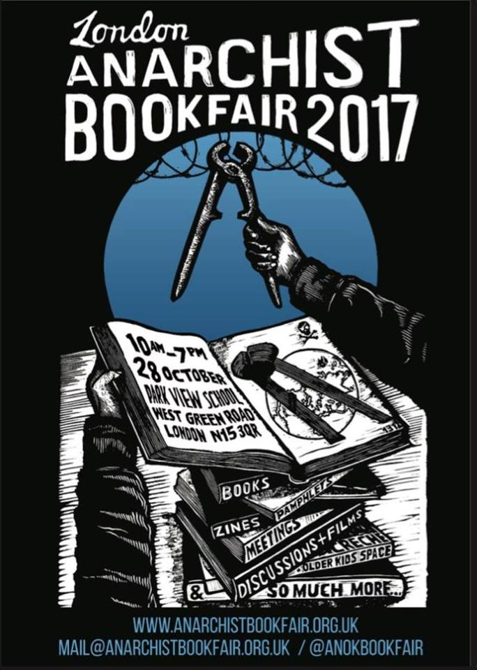 Image result for anarchist book fair london 2017