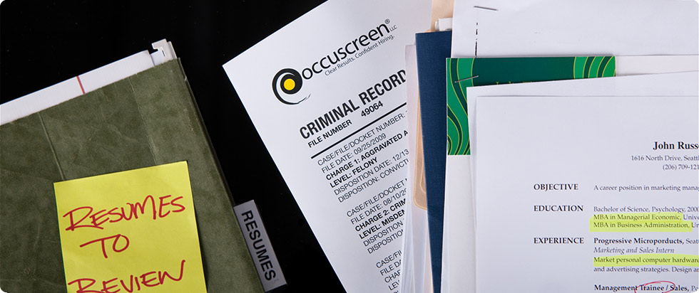Background Checks | Background Checks & Drug Screening | Occuscreen