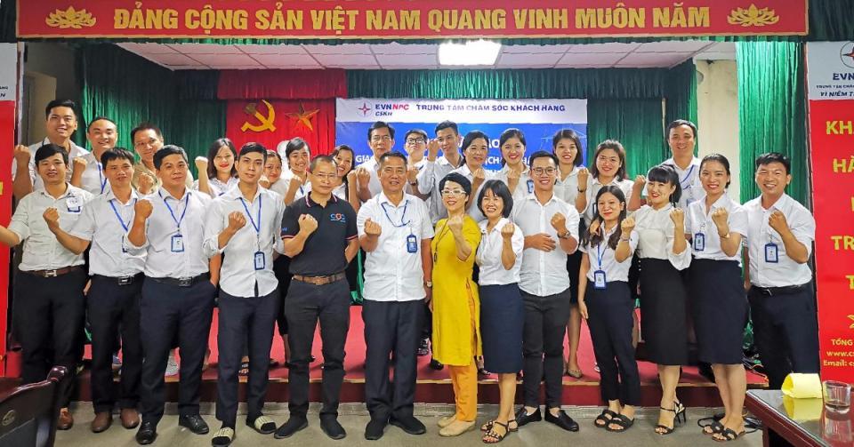 Đào tạo kỹ năng CSKH cho Trung tâm CSKH NPC