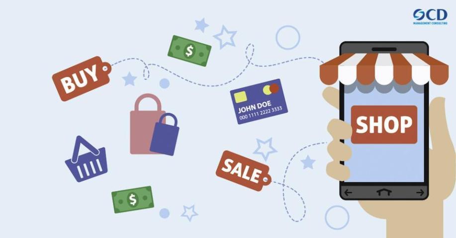 Xu hướng mua sắm trong tương lai – Chỉ cần một cú chạm hay click chuột