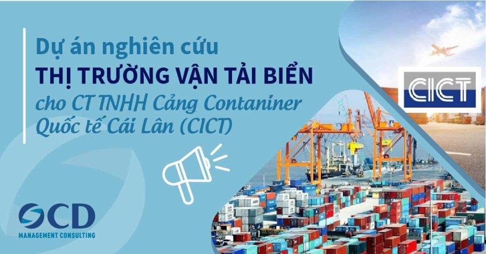 Nghiên cứu, dự báo thị trường cho CICT
