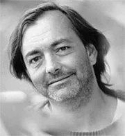 A promotional photo of Rich Mullins.